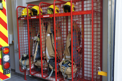 Fire Fighter's Lockers