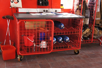Fire Fighter's Storage