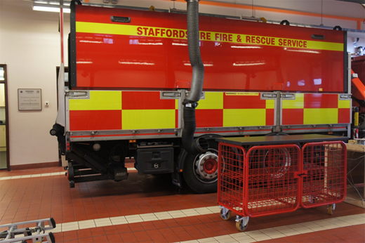 Fire Fighter's Storage Staffordshire