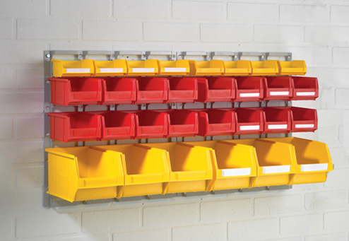 Wall mounted Plastic Containers