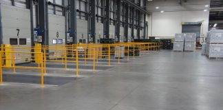 Bespoke Barriers for warehouses