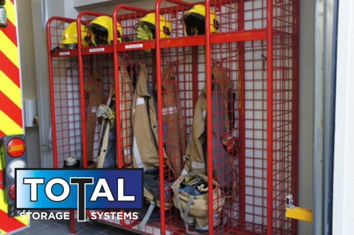 Fire Fighters Lockers Warehouse Storage Lockers